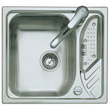 Кухонная врезная мойка из нержавеющей стали